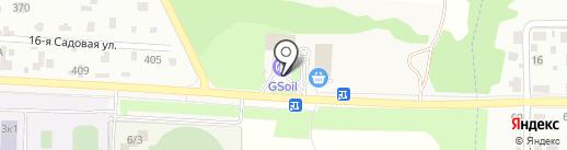 Аксон на карте Подольска