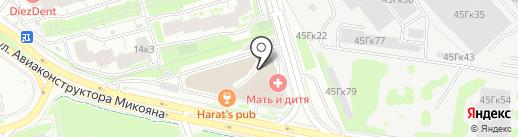Группа Кронштадт на карте Москвы