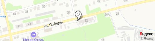 Хмельной родничок на карте Щёкино