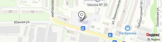 Детский сад №25 на карте Щёкино