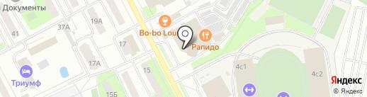 Ловушка на карте Подольска