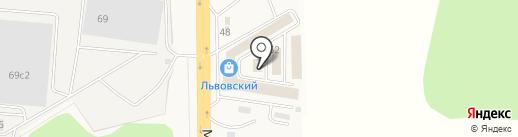 ВодостокСтрой на карте Львовского