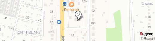 Мой сам на карте Подольска