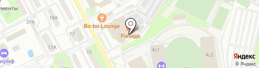 Губка Боб на карте Подольска