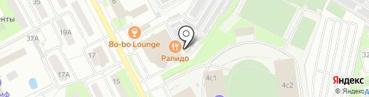 Чайка-1 на карте Подольска