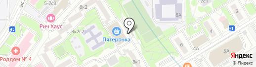 Универмаг на карте Москвы