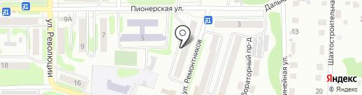 Оригинал на карте Щёкино