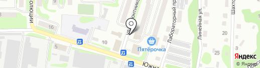 Отдел службы судебных приставов г. Щёкино и Теплоогаревского района на карте Щёкино