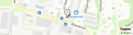 Щёкинский районный суд на карте Щёкино