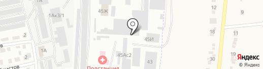 Тульская городская клиническая больница скорой медицинской помощи им. Д.Я. Ваныкина на карте Щёкино