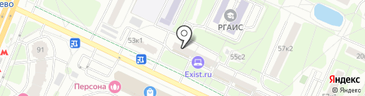 Shah на карте Москвы