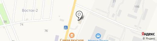 Пункт технического осмотра на карте Первомайского