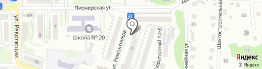 Отдел службы судебных приставов г. Щёкино и Щёкинского района на карте Щёкино