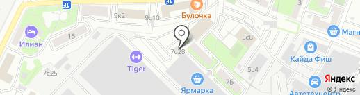 Delta-fitness.ru на карте Москвы