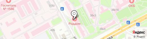 Женская консультация на карте Подольска