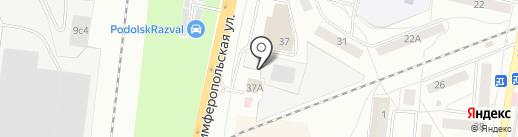 Транссервис на карте Климовска