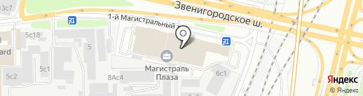 Фуджифильм-Ро на карте Москвы