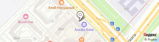 АКБ Инвестторгбанк, ПАО на карте Москвы