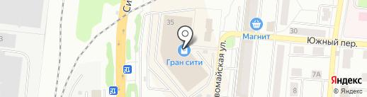Гран на карте Климовска