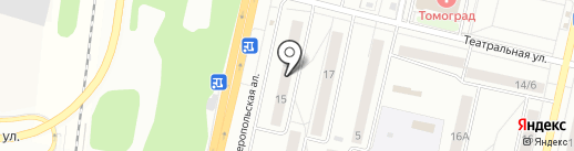 Леди Di & Джентльмен на карте Климовска