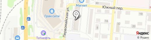 Магазин книг на карте Подольска