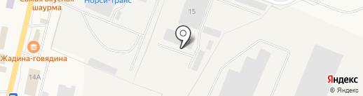 Дуэт авто на карте Первомайского