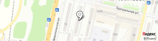 Веснушка на карте Климовска
