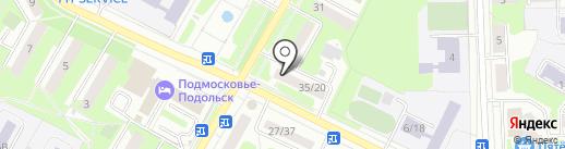 Почта Банк, ПАО на карте Подольска