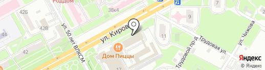 Ты+я на карте Подольска