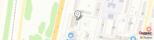 Окна-Сервис на карте Климовска