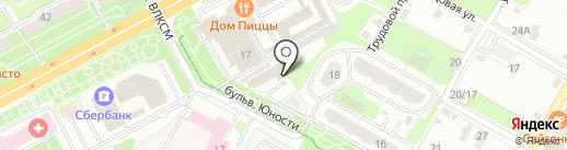 Галс Моторс на карте Подольска