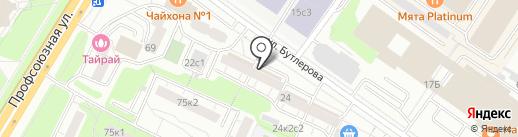 Арго на карте Москвы