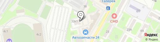 Vorwerk на карте Подольска