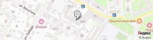 Шепчинки, ЖСК на карте Подольска