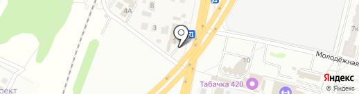 Платежный терминал, Московский кредитный банк, ПАО на карте Железнодорожного