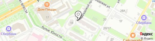 Мир Тур на карте Подольска
