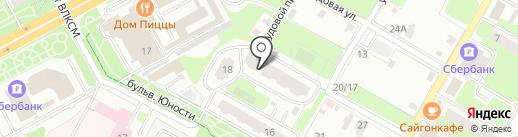 Звезда Арт на карте Подольска