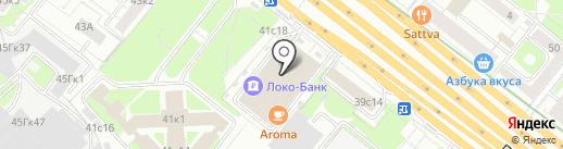 Стройтрансгаз на карте Москвы