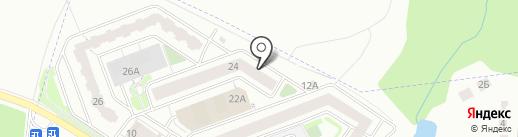 Платежный терминал, Московский кредитный банк, ПАО на карте Щербинки