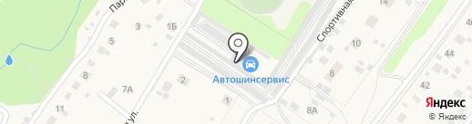 Шиномонтажная мастерская на карте Любучан