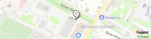 Yellow Sun на карте Подольска
