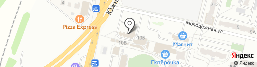 Зоокорма на Арбате на карте Климовска