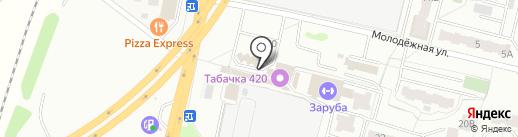 Мобил Элемент на карте Климовска