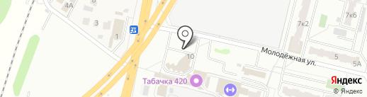 Zoom на карте Климовска