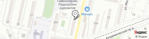 Эврика на карте Климовска