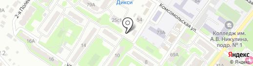 Палигор на карте Подольска