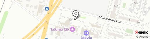 Литрушка на карте Климовска