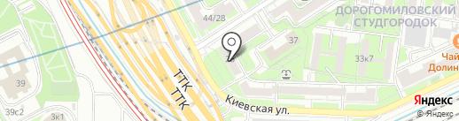 Деал на карте Москвы