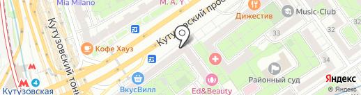 АТЛАС ЗДОРОВЬЯ на карте Москвы