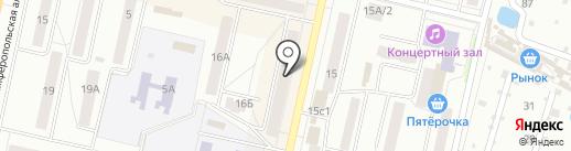Мастер на карте Климовска